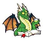 NEW: Green Bookdragon