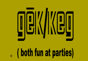 GEEKS/TECHNOLOGY/FUN AT PARTIES