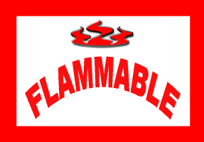 HUMOR/FLAMMABLE