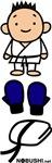 Karate Goods Blue