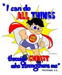 I can do ALL THINGS ...