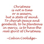 Christmas is not a time or a season
