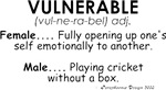 Meaning of Vulnerable