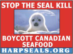 Stop the seal kill red