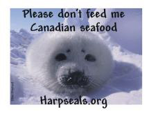 No Canadian seafood!