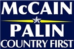 McCain Palin 2008 Stickers