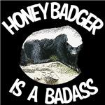 Honey Badger is a Badass