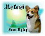 <h5>My Corgi Makes My day</h5>