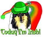 St Patrick's Day Collie