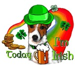 Jack Russell Terrier St. Patrick's Day