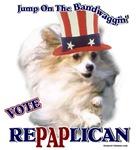 Politital Humor T-shirts Vote RePAPlican