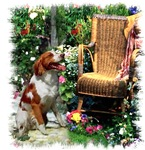 American Brittany Spaniel Gifts of Art