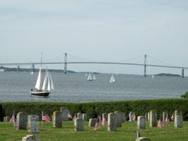 View From Fort Adams