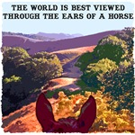 The world is best viewed through the ears of a ...