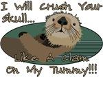 Otter Skull Crush Design