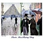 Paris Mice:Rainy Day