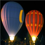Two Night Balloons