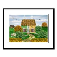 Irish Village Series©  Framed Prints