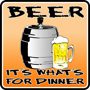Beer For Dinner