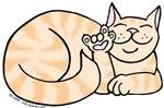 Orange Tabby ASL Kitty