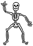 ILY Skeleton