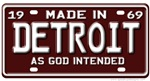 License Plate T-shirts