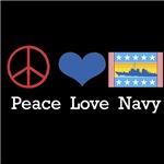 Peace Love Navy