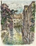 Venice Watercolor & Ink