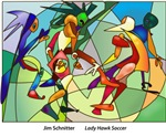 Lady Hawk Soccer, Jim Schnitter