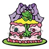 Country Style Birthday Cake Froggy