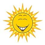 Sunshine Sun Smiley Face