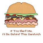 Behind This Sandwich