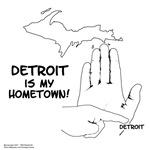 Michigan Right Hand City Maps