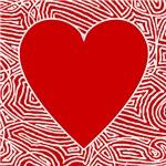 Scribbleprint Hearts