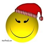 Christmas Cheeky Face