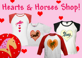 not just for valentines day! horses & hearts