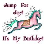 Jump For Joy! It's My Birthday!