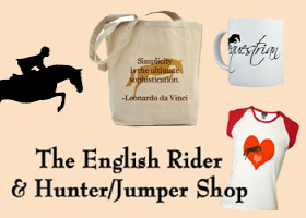 english & hunter jumper horses t-shirt & gifts. co