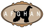 picture frame afghan hound