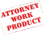 Attorney Work Product Stamp (Red)