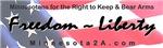Freedom & Liberty Bumper Sticker