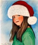 Santas Hat Lady