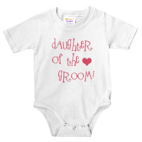 Cool Daughter of the Groom Wedding Apparel Pink