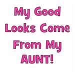 Good Looks From Aunt - Pink