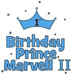 CUSTOM - 1st Birthday Prince Marvell