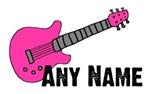 PINK Guitar - Any Name
