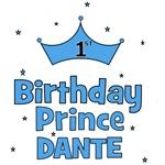 Dante 1st Birthday Prince!
