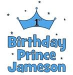 1st Birthday Prince Jameson!