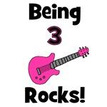 Being 3 Rocks! pink