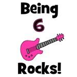 Being 6 Rocks! pink